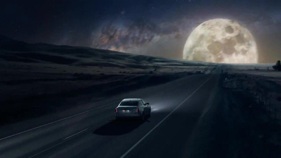 凯迪拉克CTS Sedan登月广告
