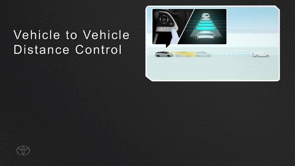 丰田普锐斯 DRCC技术展示