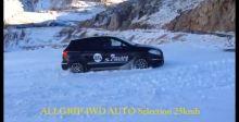 铃木骁途 雪地测试不同驾驶模式