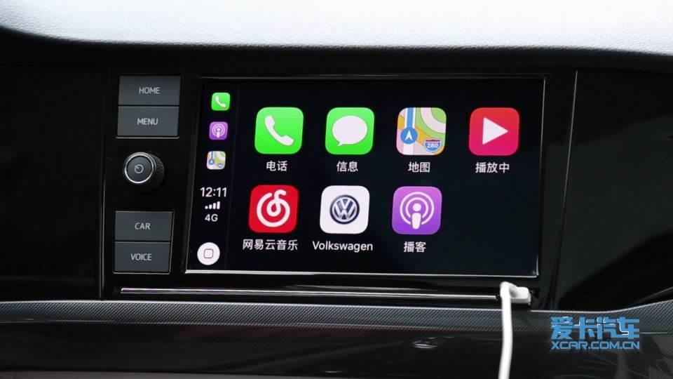 2019款 大众宝来 CarPlay系统展示