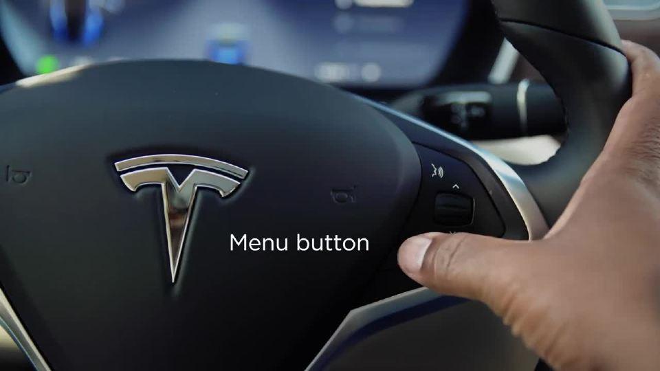 特斯拉Model S + X型指南-方向盘