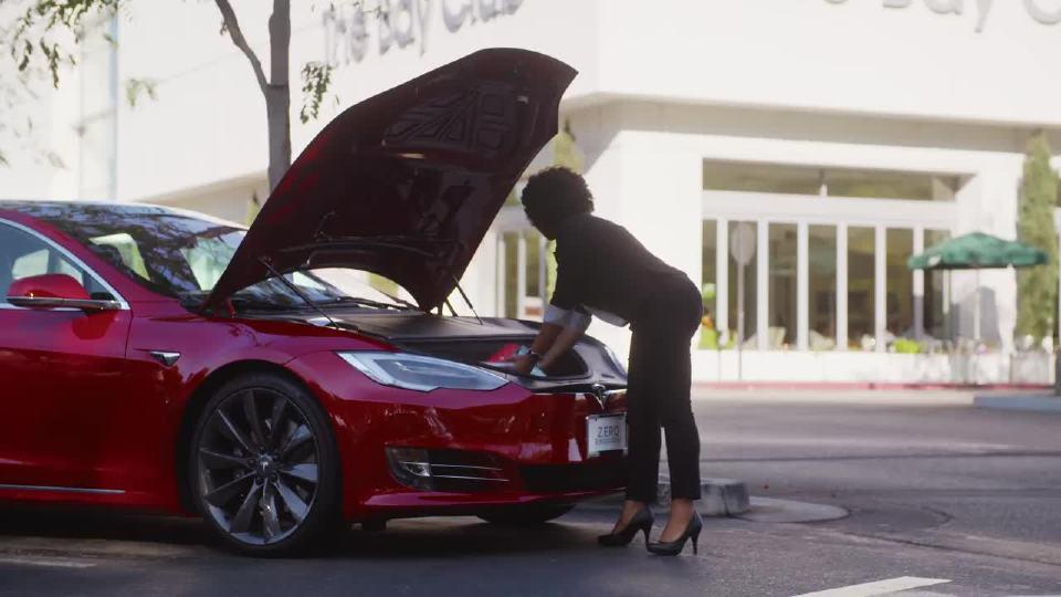 特斯拉Model S + X型指南-前行李箱