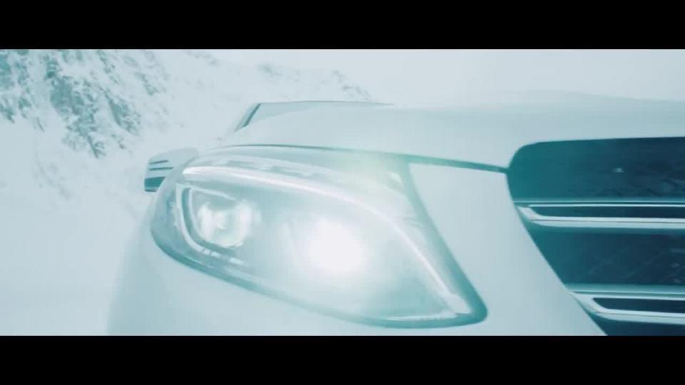 奔驰GLE旅拍广告 迷人的挪威