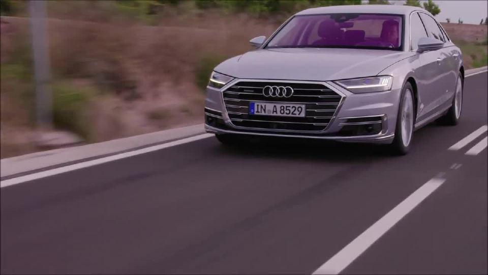 全新奥迪A8L的科技感和舒适感更加全面