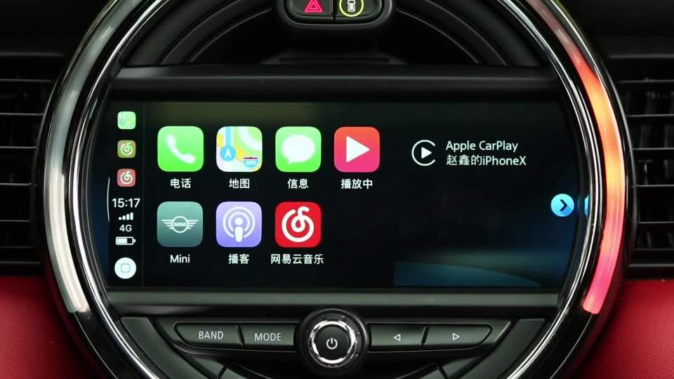 2018款 MINI COOPER S 五门版 CarPlay系统
