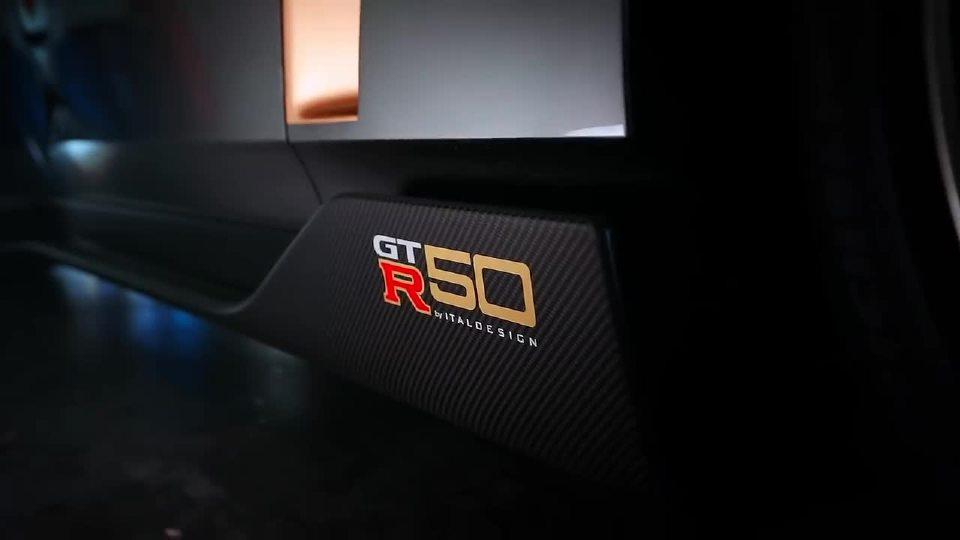 日产GT-R50 首次赛道测试