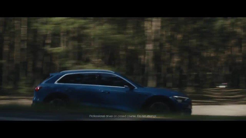 奥迪e-tron  quattro牵引力测试