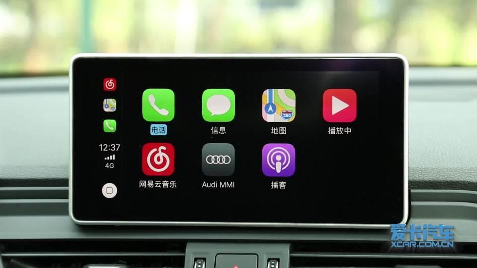 2018款奥迪Q5L CarPlay系统展示
