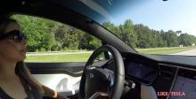 特斯拉Model X自动驾驶技术