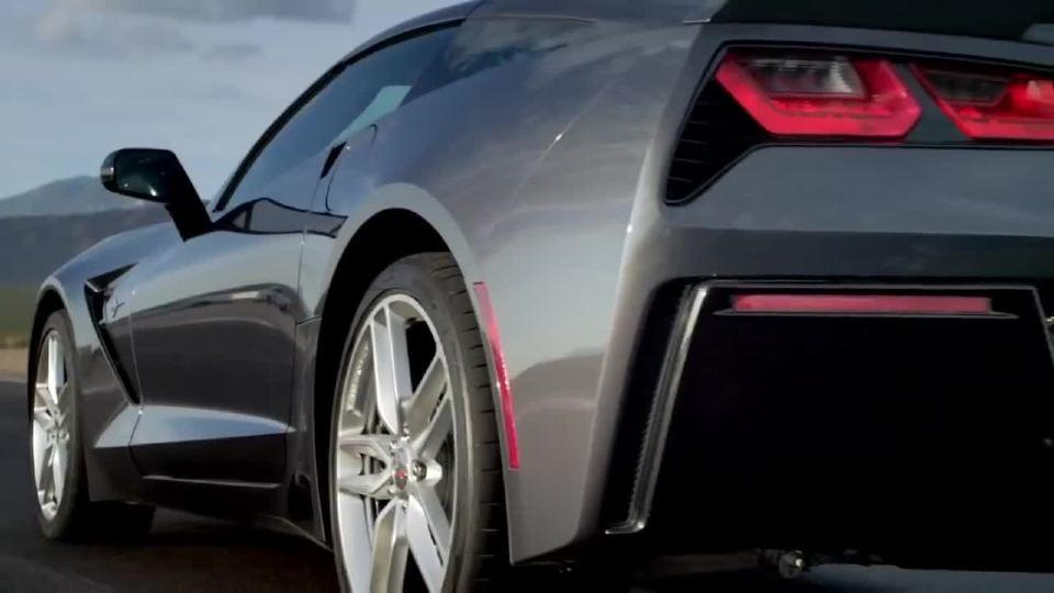 雪佛兰Corvette Stingray 生物识别测试 反向测试驱动
