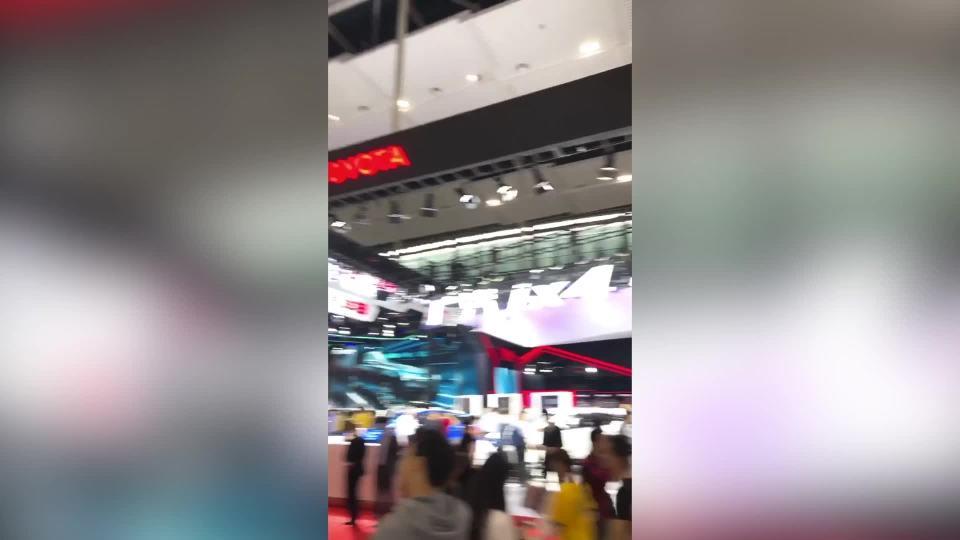 小编带您60秒逛车展(1.2-5.2馆)