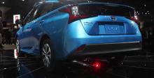 2018洛杉矶车展上亮相的2019款丰田普锐斯