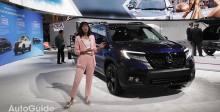 2018洛杉矶车展上亮相的2019款本田Passport AWD精英车
