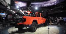 2018洛杉矶车展上亮相jeep角斗士Rubicon皮卡