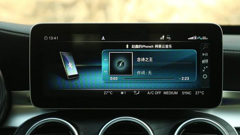 2019款 奔驰C级 娱乐及通讯系统展示