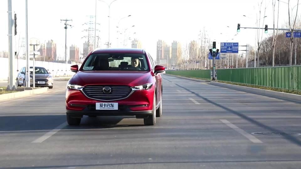 2019款马自达CX-8 LDWS车道偏离警示系统