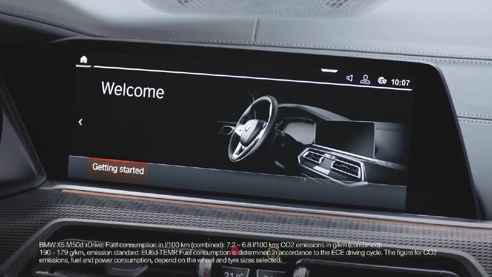 设置您的 BMW ConnectedDrive 帐号 - BMW 操作方法