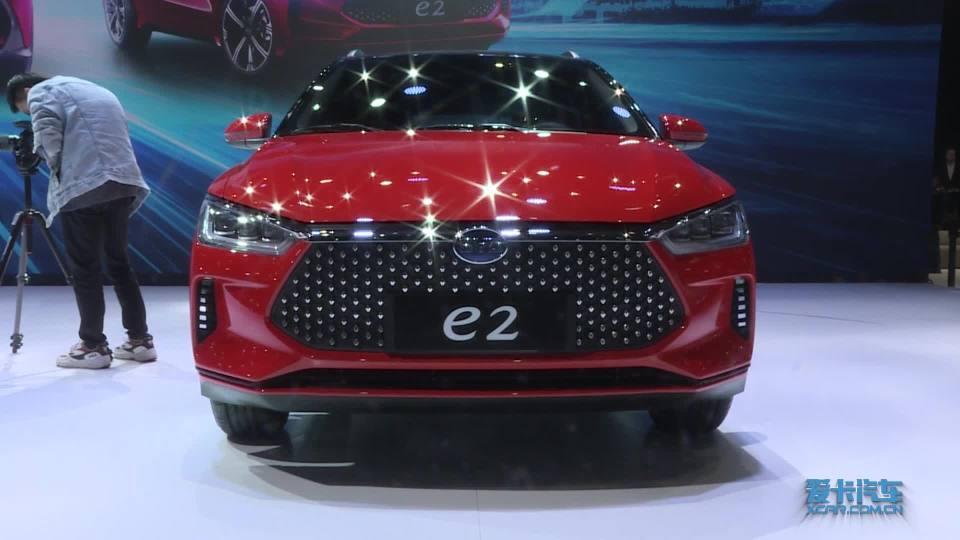 2019上海车展 100秒说车比亚迪e2