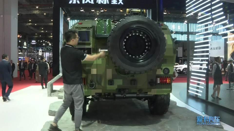 2019上海车展 100秒说车 东风猛士