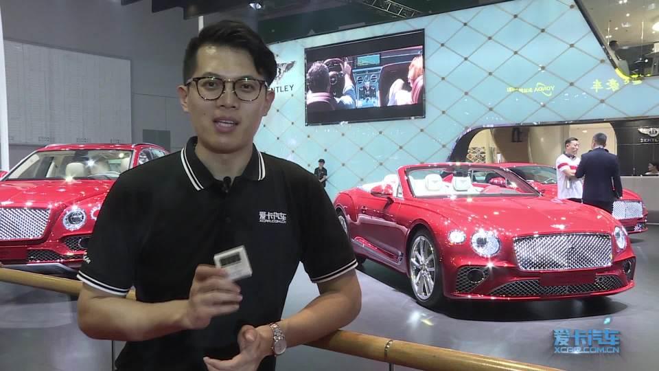 2019上海车展 100秒说车宾利欧陆GT敞篷版