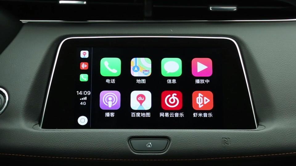 2018款 凯迪拉克XT4 CarPlay系统展示