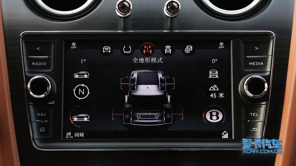 2018款 宾利添越 驾驶模式展示