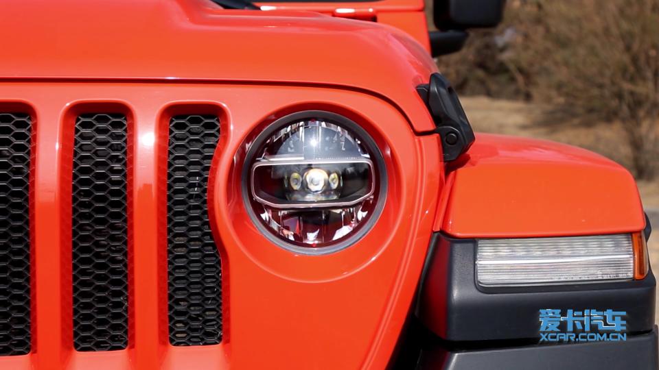 2018款 Jeep牧马人 灯光展示