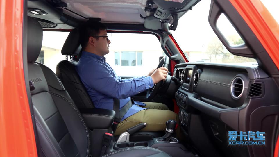 2018款 Jeep牧马人 乘坐体验展示