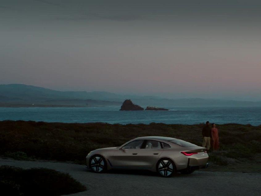 骨子里还是BMW 宝马i4概念车技术解析
